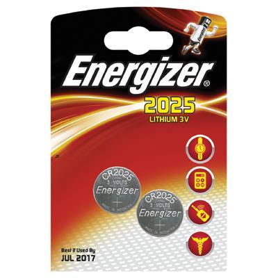 Bateria specjalistyczna Energizer CR2025 3V (2)-6997