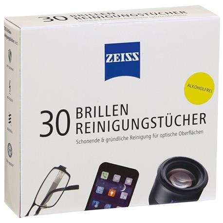 Chusteczki do okularów i wyświetlaczy Zeiss 30 szt-18033