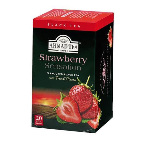 Herbata Ahmad Strawberry Sensation 20 kopertek-18091