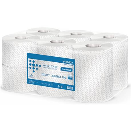 Papier toal.Jumbo Velvet Care 2 w.biała celul.(12)-18111