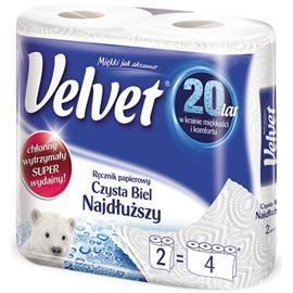 Ręcznik papierowy Velvet Najdłuższy 2szt.