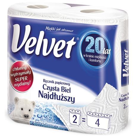 Ręcznik papierowy Velvet Najdłuższy 2szt.-18113