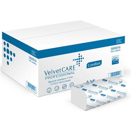 Ręcznik ZZ Velvet Care 2 w. biała celul. 3000szt.-18115