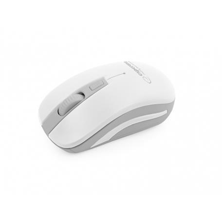 Mysz Esperanza Uranus 2.4 GHz USB bezprz.biała-18244