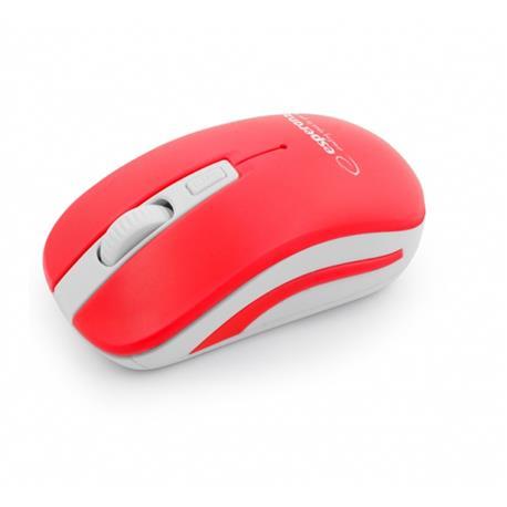 Mysz Esperanza Uranus 2.4 GHz USB bezprz.czerwona-18241