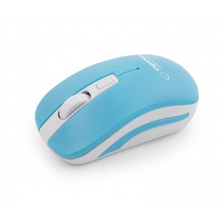 Mysz Esperanza Uranus 2.4 GHz USB bezprz.niebieska-18242