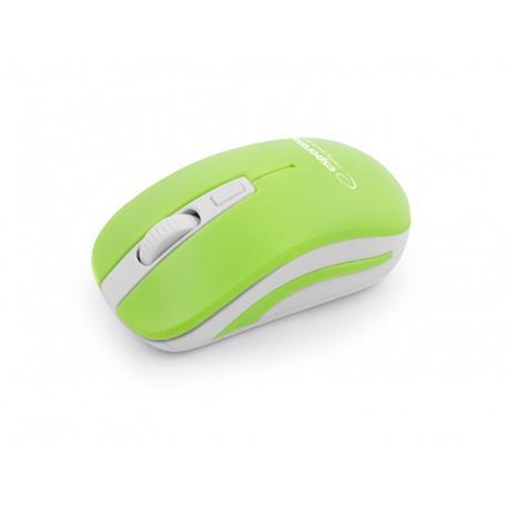 Mysz Esperanza Uranus 2.4 GHz USB bezprz.zielona-18245