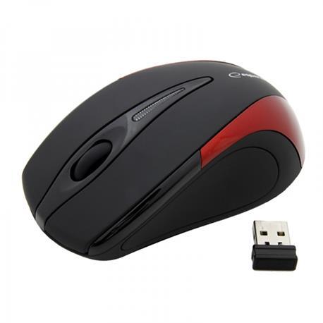Mysz Esperanza Antares 2.4 GHz USB bezprz.czerwona-18233