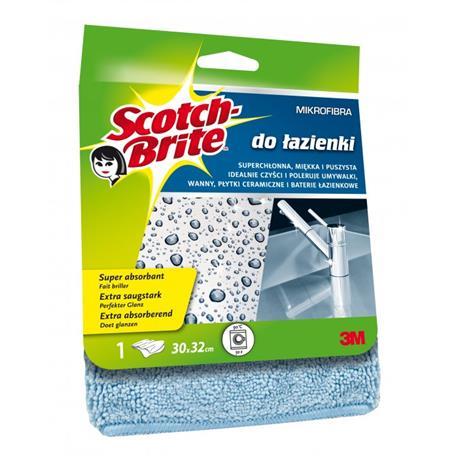 Ścierka Scotch Brite Mikrofibra do łazienki 1szt.-18624