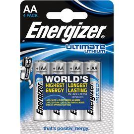 Baterie litowe Energizer AA L91 4 sztuki