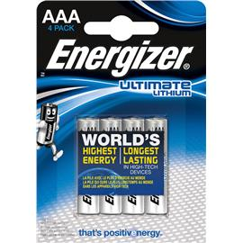 Baterie litowe Energizer AAA L92 4 sztuki