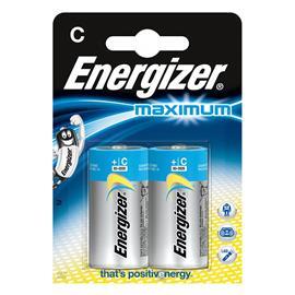 Baterie alkaliczne Energizer Maximum LR14 2 sztuki