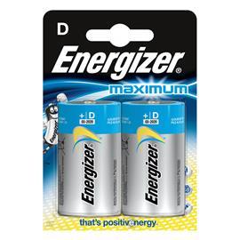 Baterie alkaliczne Energizer Maximum LR20 2 sztuki