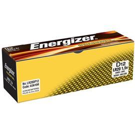 Baterie alkaliczne Energizer LR20 12 sztuk