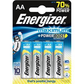 Baterie alkaliczne Energizer Maximum LR6 4 sztuki