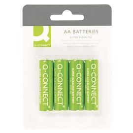 Baterie alkaliczne Q-Connect LR6 4szt