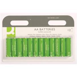 Baterie alkaliczne Q-Connect LR6 12szt