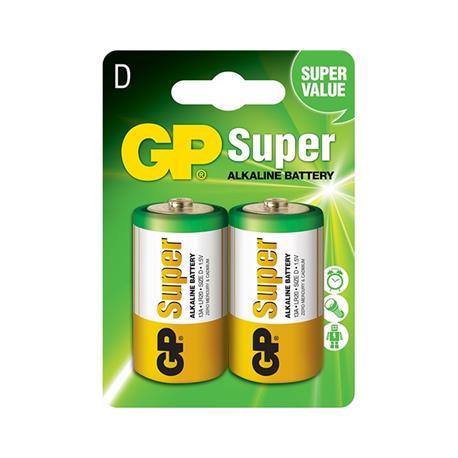 Baterie GP Super LR20 (2)-18905