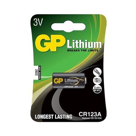 Bateria GP litowa CR123A (1)-18908