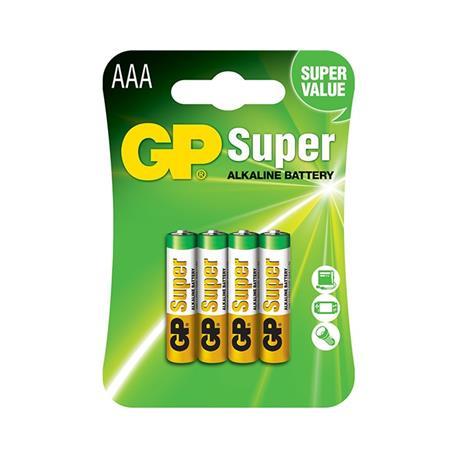 Baterie GP Super LR03 (4)-18902