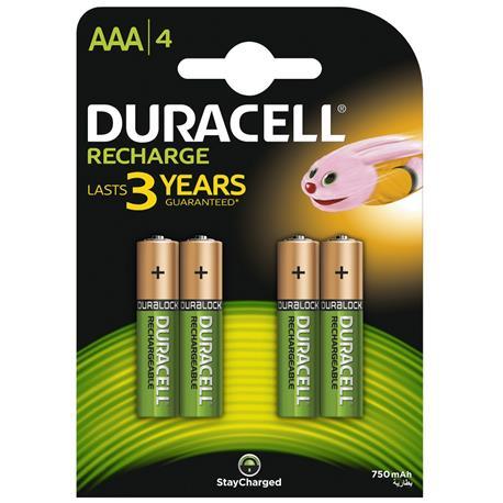 Akumulator Duracell AAA 800/850mAh 4 sztuki-18996