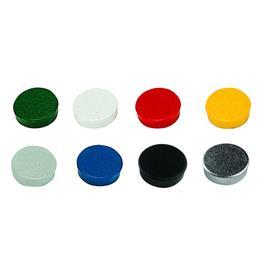 Magnesy okrągłe Bi-Office 20mm (10 szt)