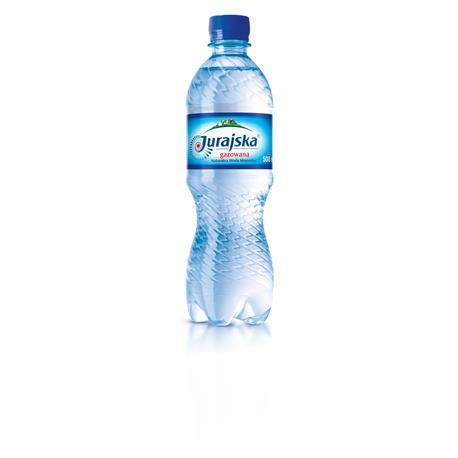 Woda Jurajska gazowana 0,5l (12 szt)-19616