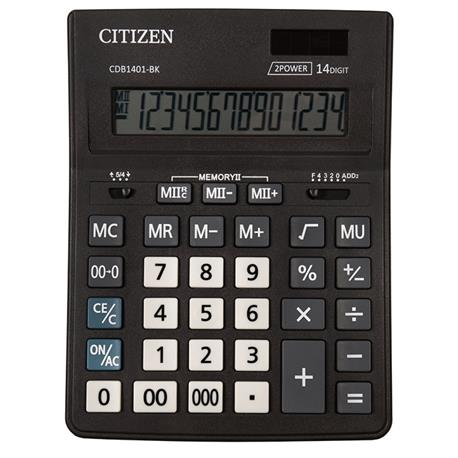 Kalkulator Citizen CDB1401-BK Business Line 14 p.-19824