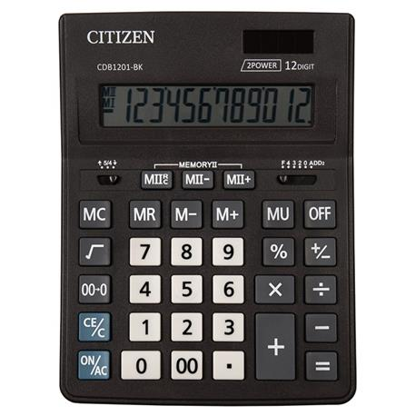 Kalkulator Citizen CDB1201-BK Business Line 12 p.-19825