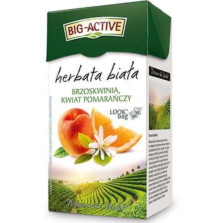 Herbata Big-Active biała brzoskw.kwiat pomar.(20)-19955