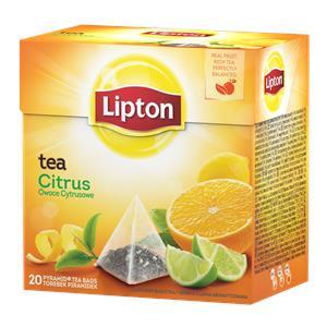 Herbata Lipton piramidka Citrus 20 torebek-18181