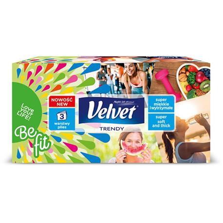 Chusteczki uniwersalne Velvet Trendy 120 szt.-20415