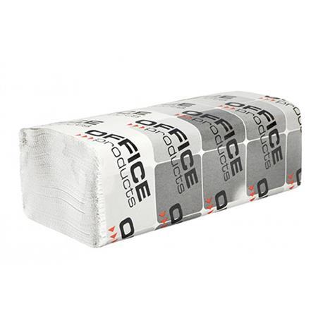 Ręcznik ZZ OP 1 warst. biała makulatura 4000szt.-20881