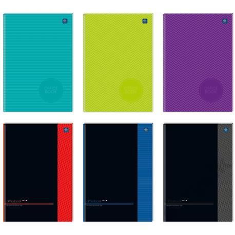 Brulion Interdruk Officebook twardy A5 96k. kratka-15082