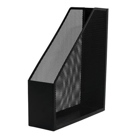 Pojemnik metal.skośny Q-Connect czarny-20954