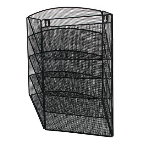 Półki metal.naścienne Q-Connect czarne (5)-20965