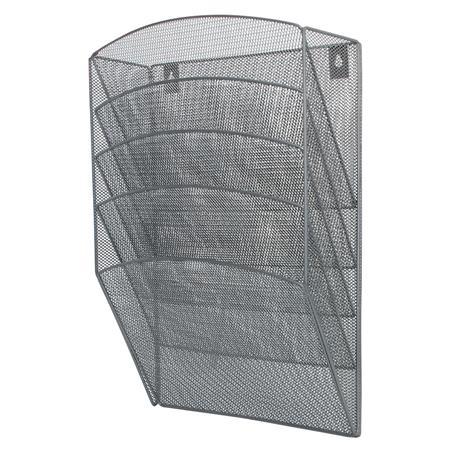 Półki metal.naścienne Q-Connect srebrne (5)-20966