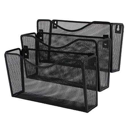 Półki metal.naścienne Q-Connect czarne (3)-20967