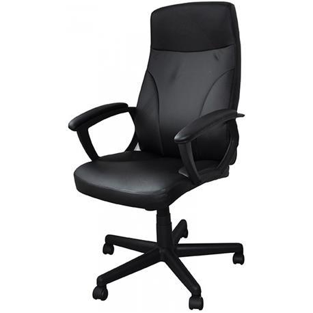 Fotel biurowy Crete czarny -21028