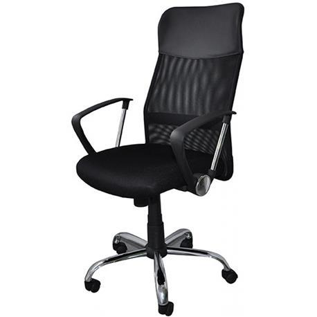Fotel biurowy Corfu czarny -21034