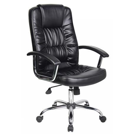 Fotel biurowy Cyprus czarny -21039