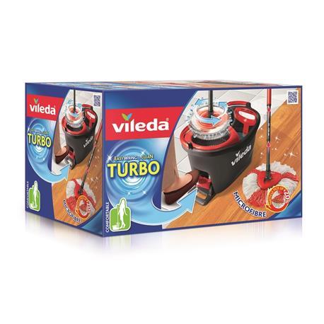 Mop paskowy Vileda Turbo obrotowy z wiadrem-21068