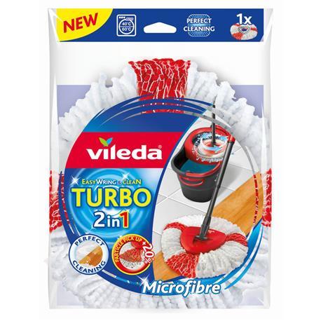 Mop paskowy Vileda Turbo 2in1 obrotowy zapas-21070