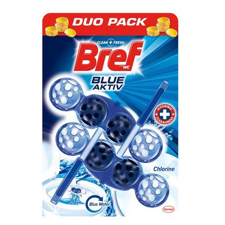 Zawieszka do WC Bref Blue Activ 50g Clorine (2)-21092