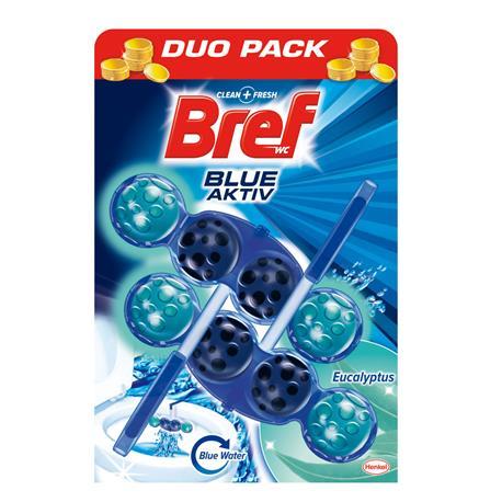 Zawieszka do WC Bref Blue Activ 50g Eucaliptus (2)-21093