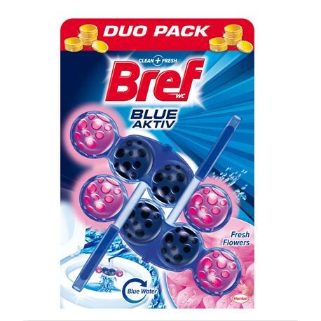 Zawieszka do WC Bref Blue Activ 50g Flowers (2)-21094
