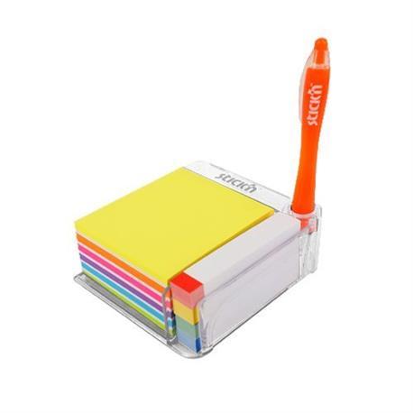 Przybornik na biurko Stick'n z karteczkami 21432-21100