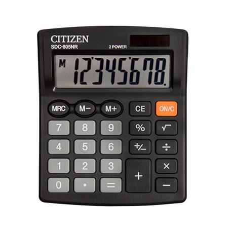 Kalkulator Citizen SDC-805 NR 8 p.*-21673