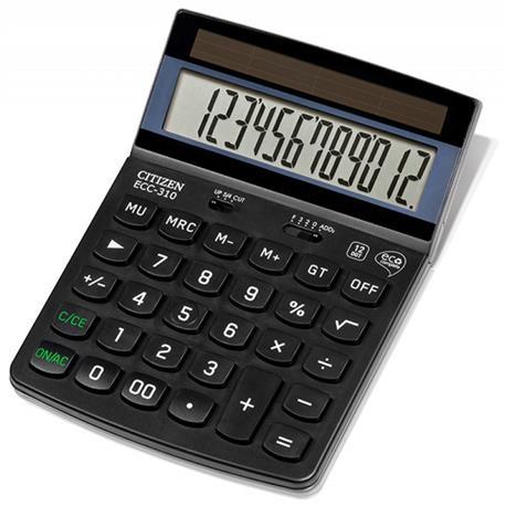 Kalkulator Citizen ECC-310 12 p.-21679