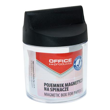 Pojemnik magnet.na spinacze Office Product pusty-21612